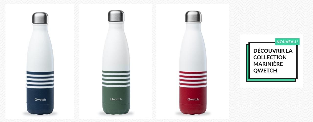 Nouvelle collection bouteille marinière Qwetch