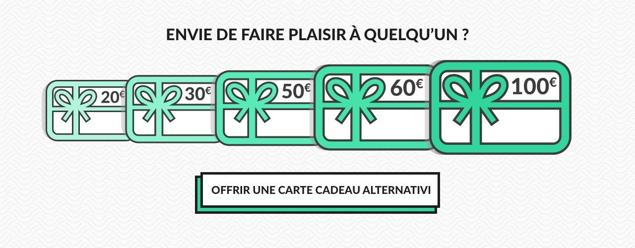 Carte cadeau Alternativi