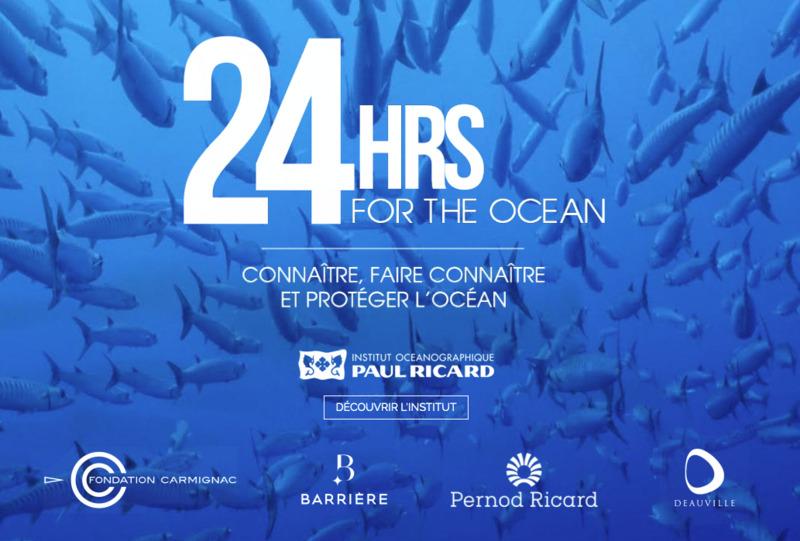 """""""24 hours for the ocean"""", Deauville se mobilise pour la sauvegarde des océans face au réchauffement climatique"""