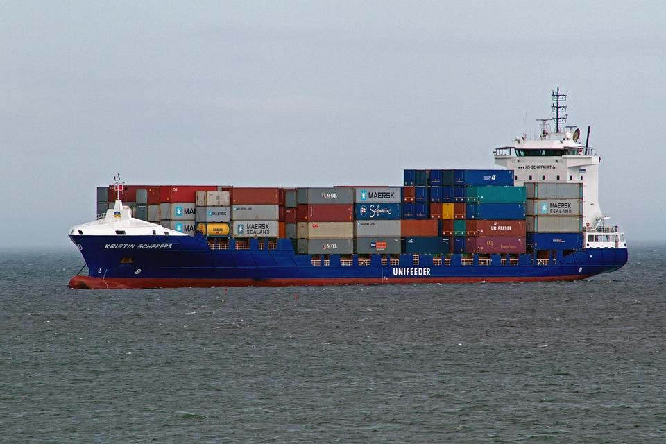 Transport maritime polluant