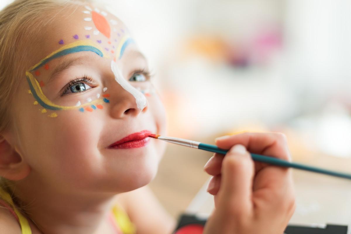 Maquillage enfant fait maison