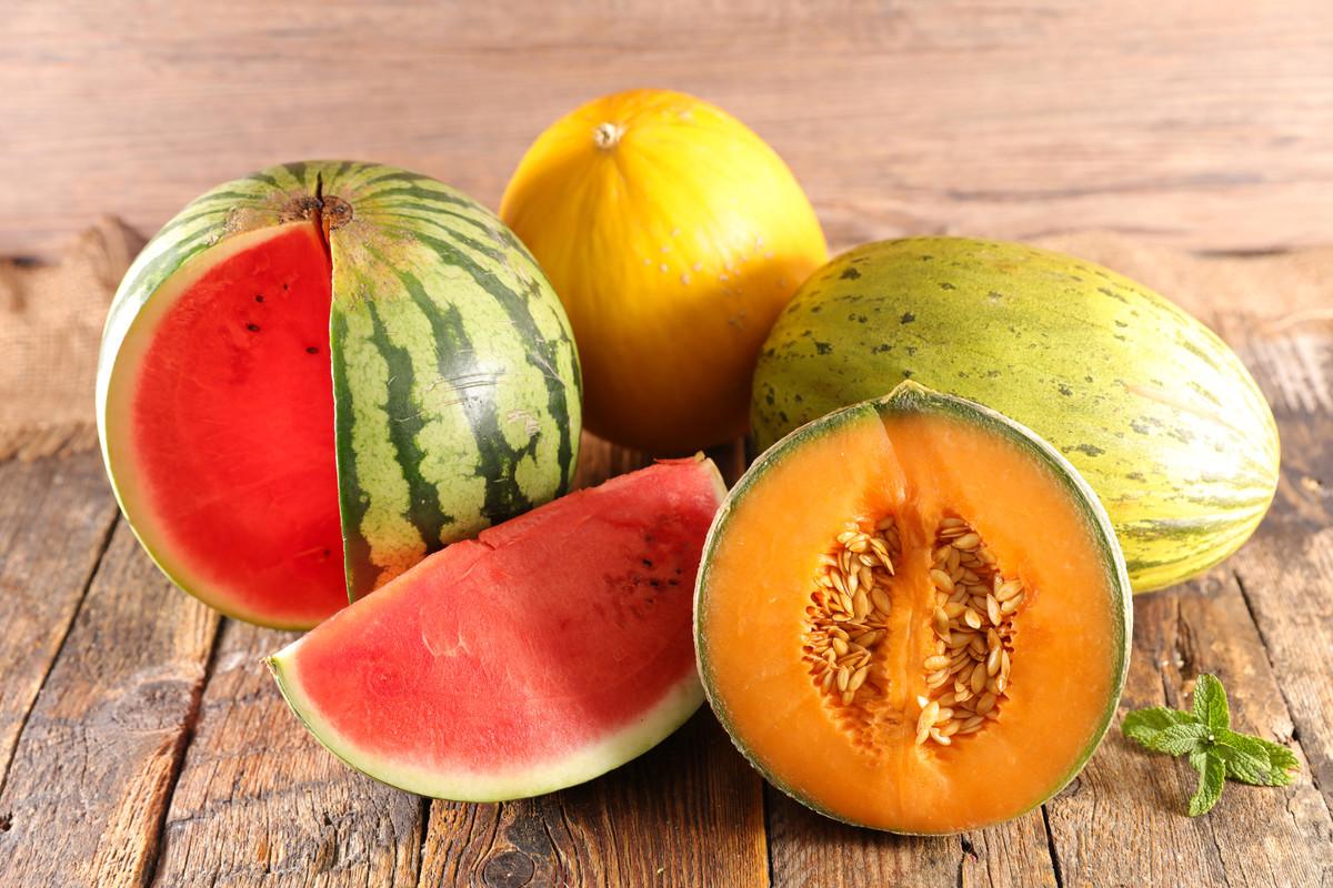 Melon pastèque congélateur
