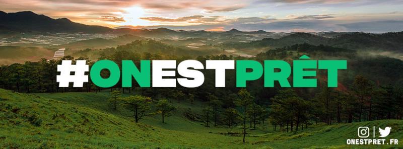 #Onestpret : le mouvement pour combattre le réchauffement climatique