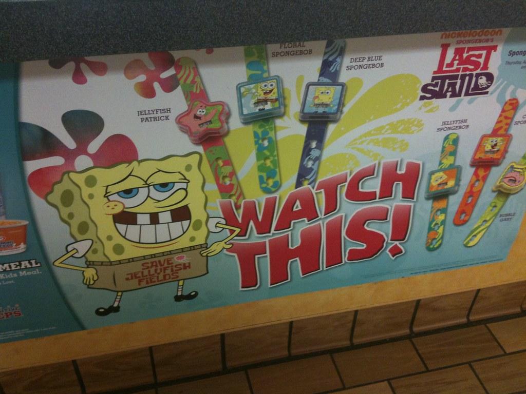 Jouets en plastique Burger King