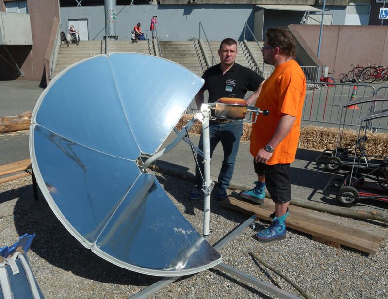Cuisiniere solaire