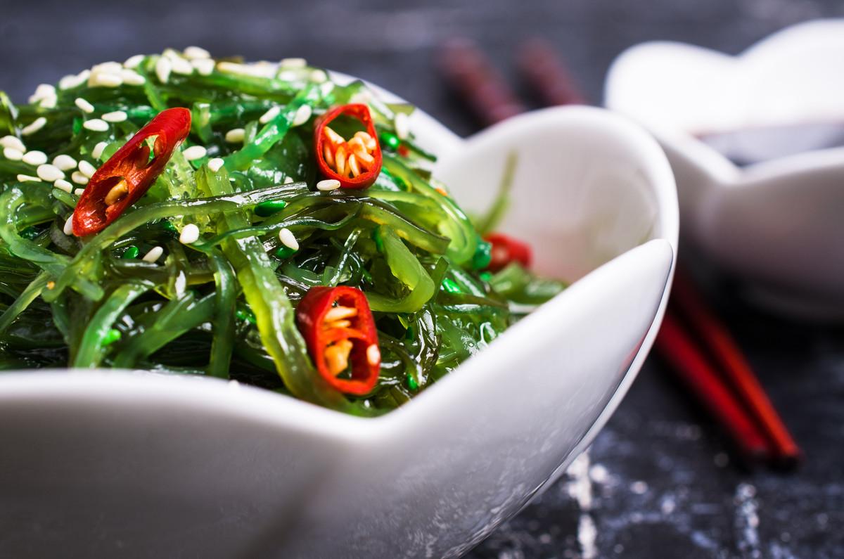 Les algues riches en vitaminesB12 pour un régime végétarien réussi.