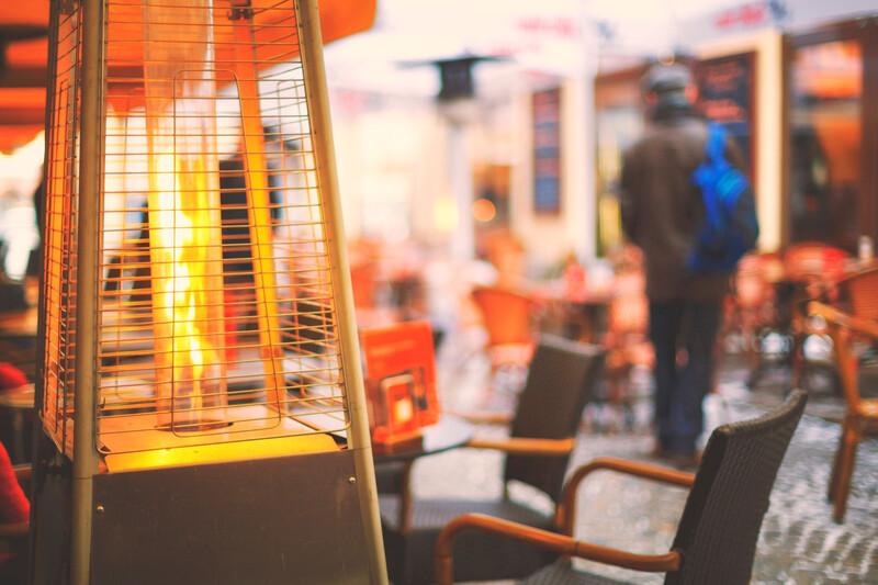 La ville de Rennes va interdire les terrasses chauffées en hiver