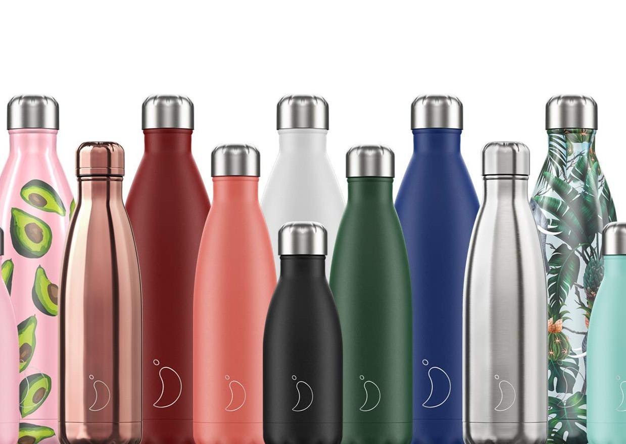 Et si on utilisait des gourdes plutôt que des bouteilles d'eau en plastique?