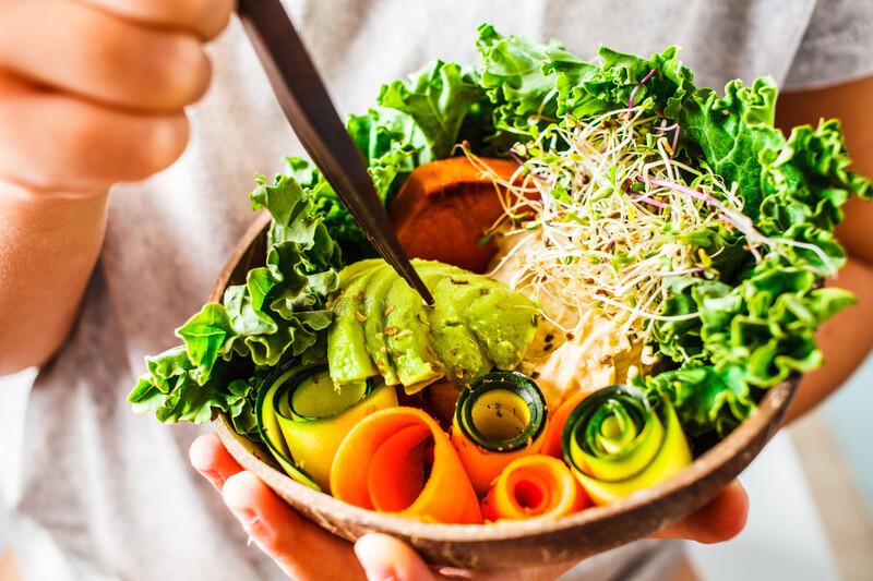 Les repas végétariens prennent place dans chaque restaurant universitaire le lundi!