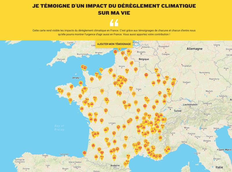 L'Affaire du Siècle : Témoignez des effets du changement climatique pour alimenter le recours contre l'État