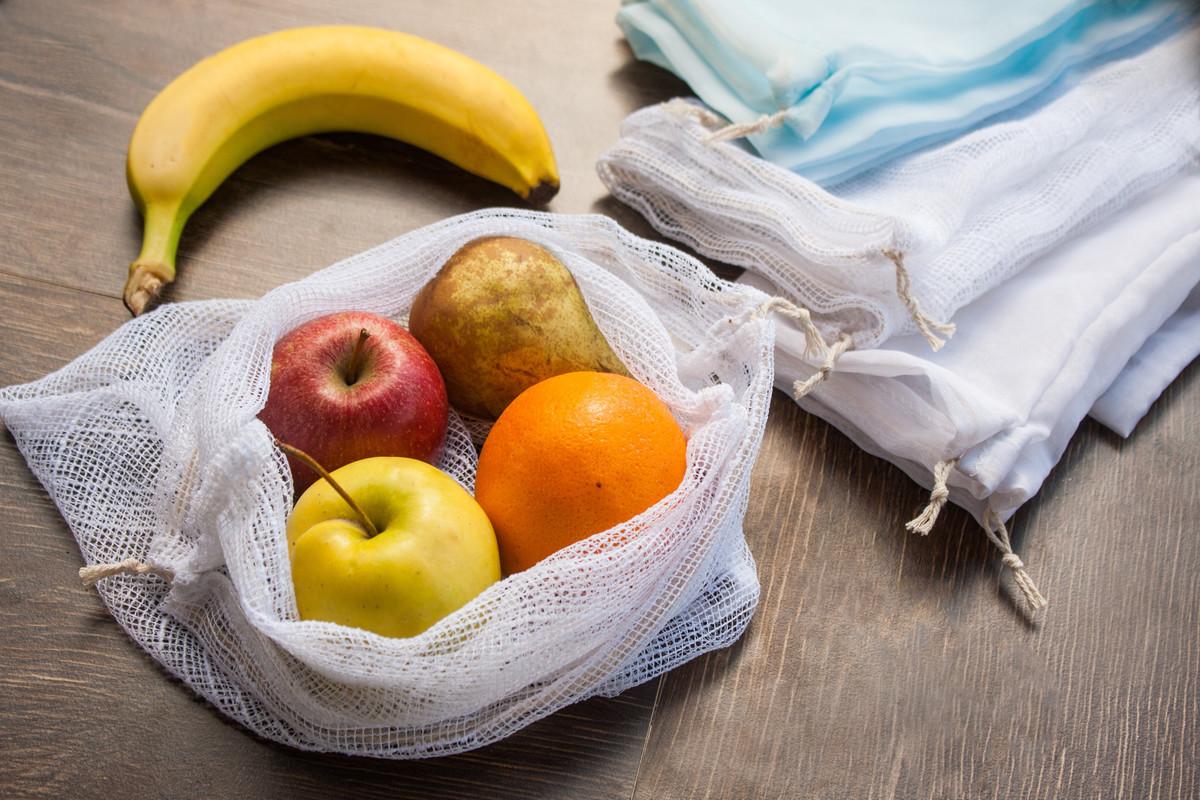 DIY: Fabriquer des sacs à vrac pour ses courses