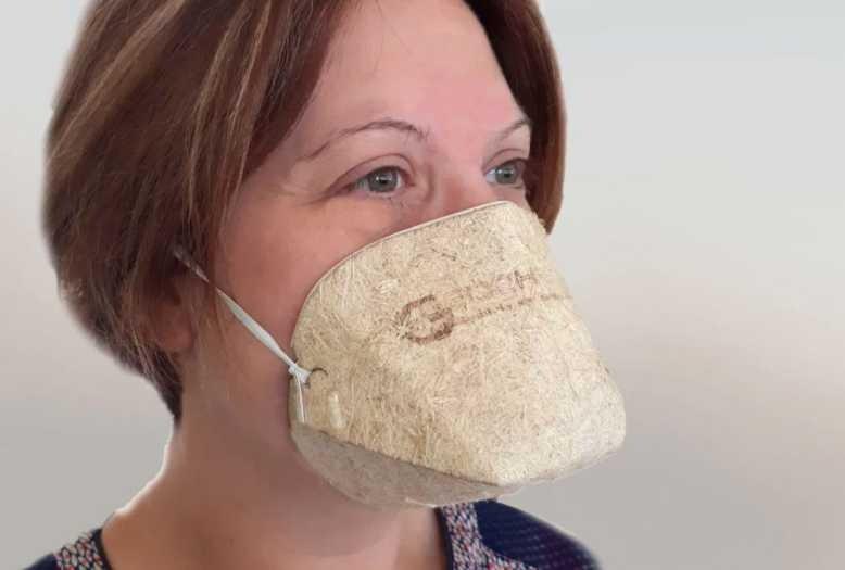 Géochanvre, un masque biocompostable et 100% végétal