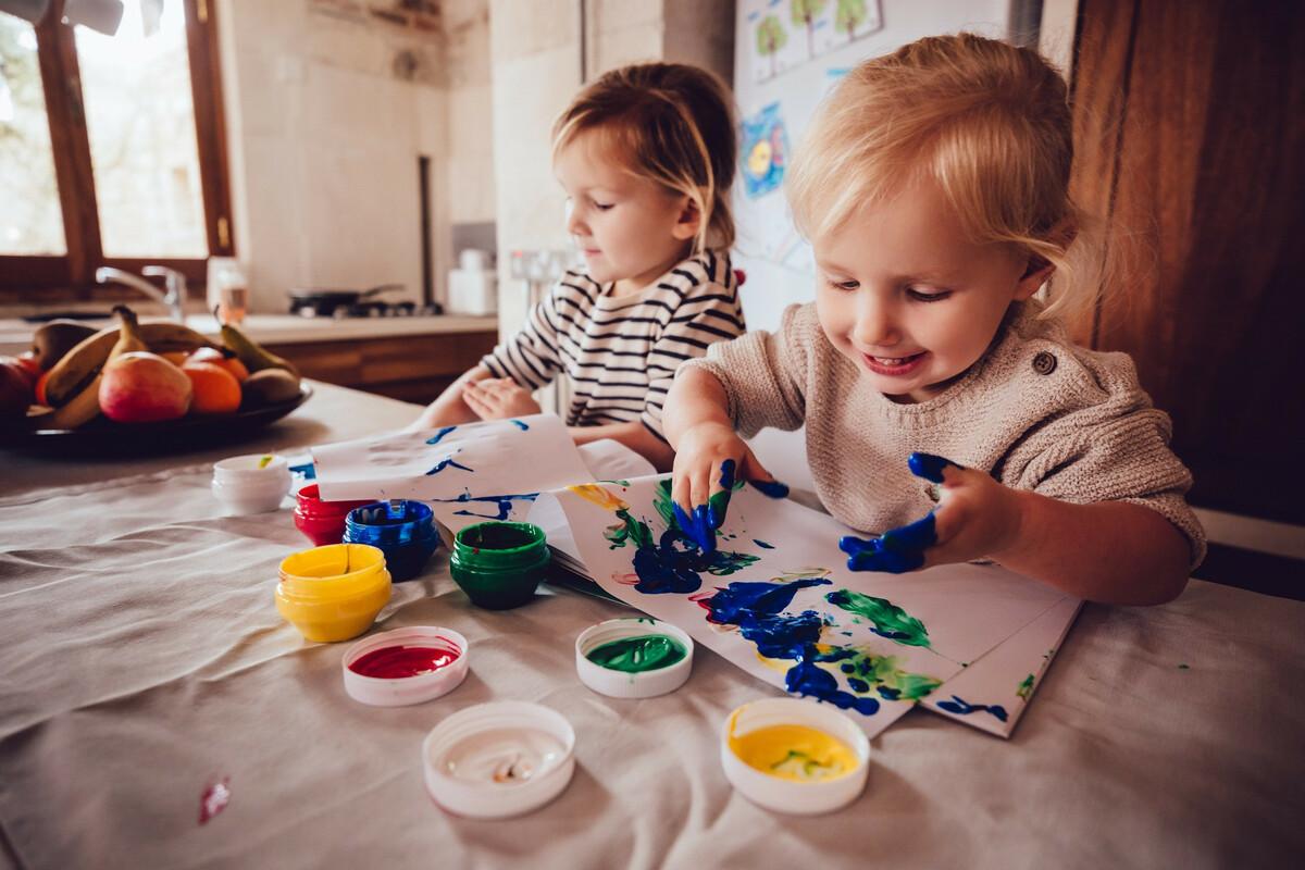 DIY: fabriquer de la peinture comestible pour les enfants