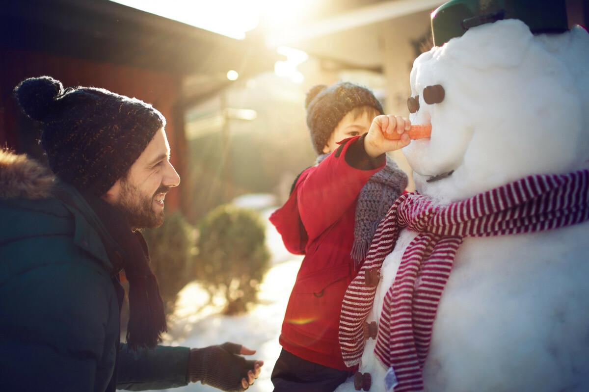 DIY: comment faire un bonhomme de neige?