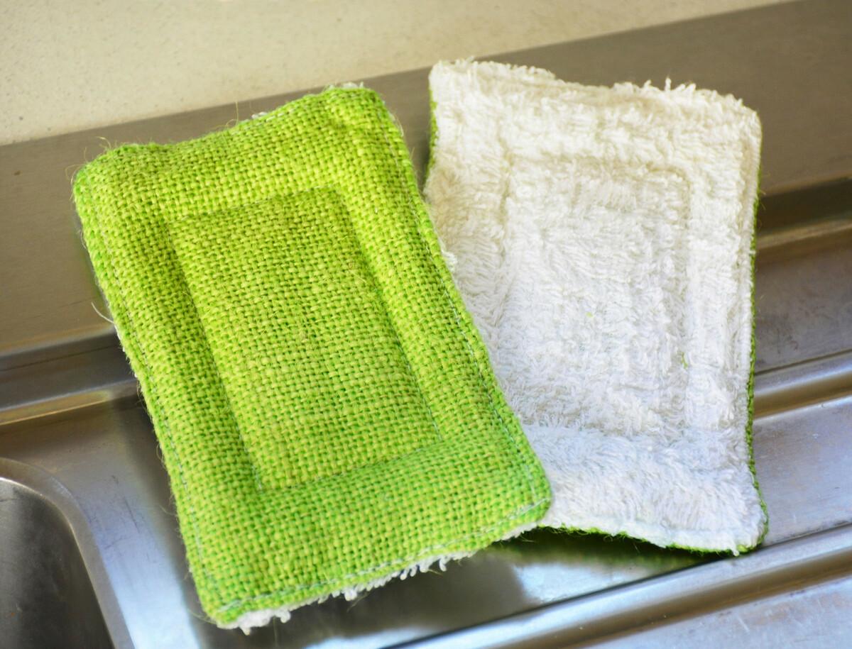 Fabriquer une éponge lavable