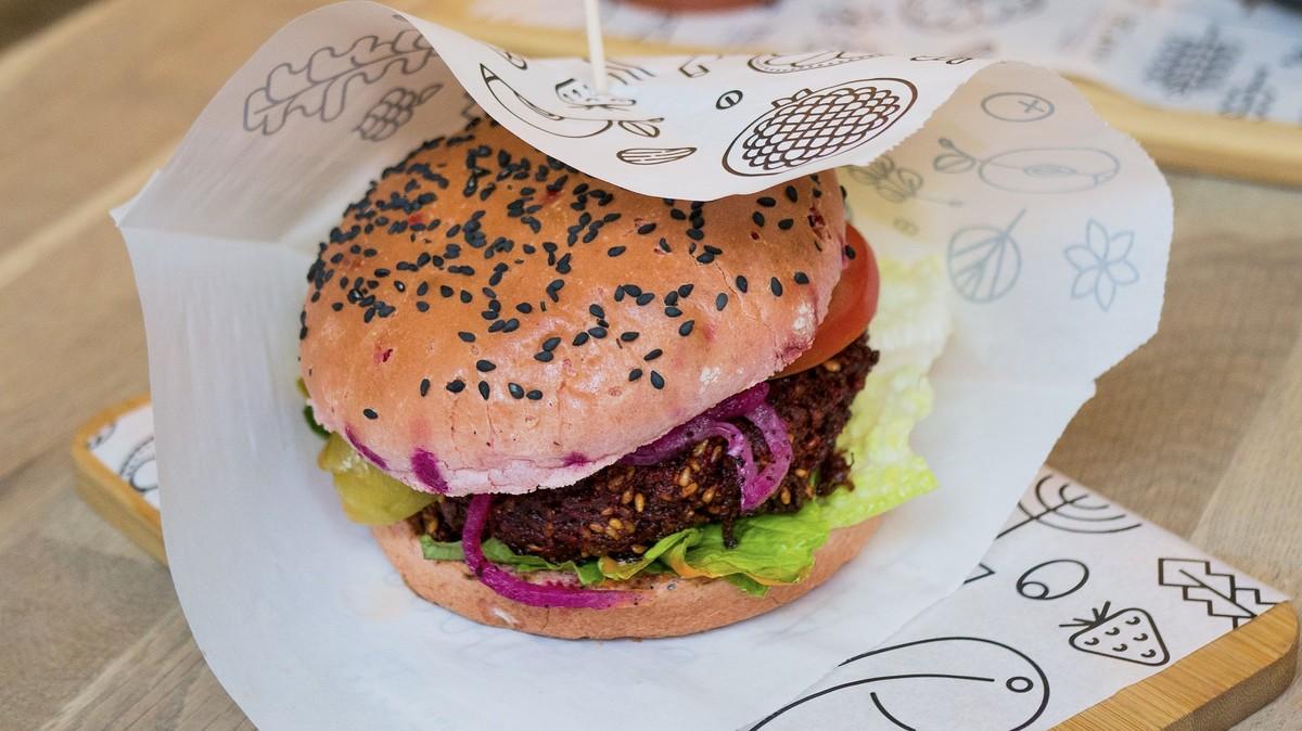 burger vegetarien steak vegetal