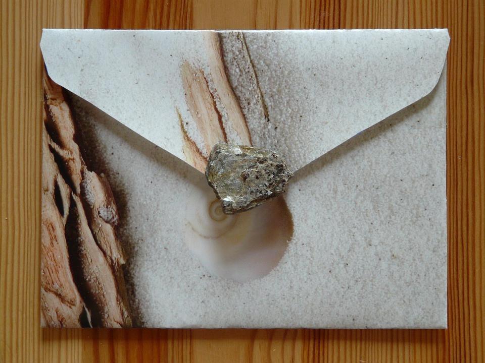 Enveloppe DIY