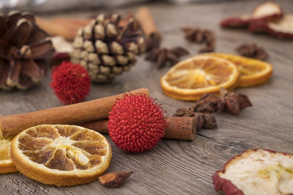 Infusion aux fruits séchés