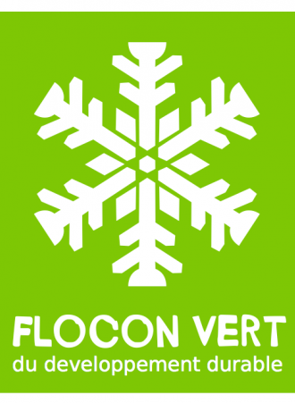"Label ""Flocon vert"" écoresponsable"
