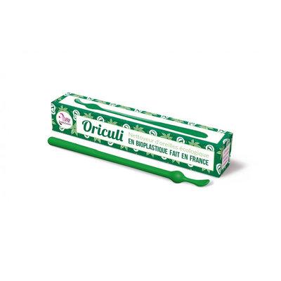 Oriculi en bioplastique coloris vert