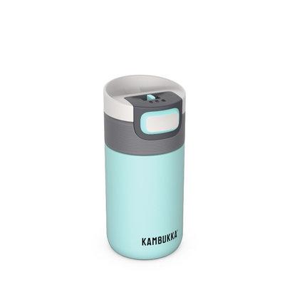 Mug isotherme Etna Glacier 300 ml inox et tritan sans BPA anti fuite