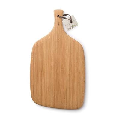 Grande planche à découper de service en bambou