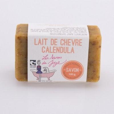 Savon surgras au lait de chèvre et Calendula 100g