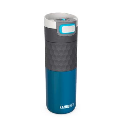 Mug isotherme Etna Grip Ocean  inox tritan sans BPA anti fuite