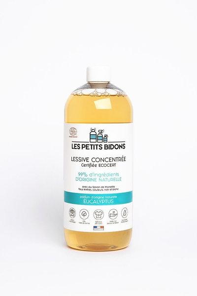 Lessive écologique concentrée parfumeucalyptus 1 l