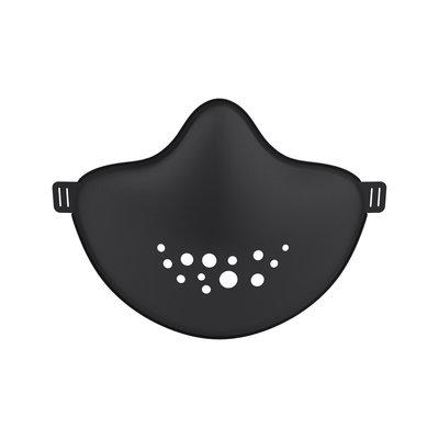 Masque de protection HI en plastique recyclable cosmos noir