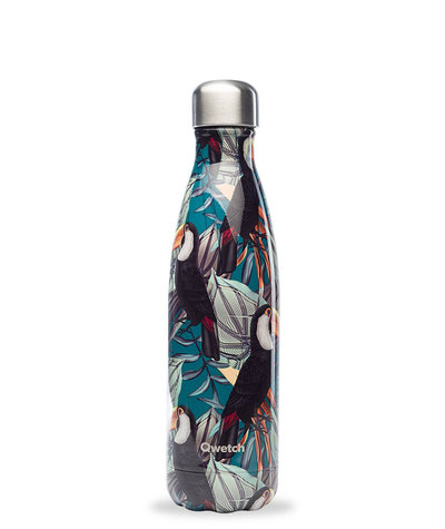 Bouteille Tropical Toucan 500 ml inox, isotherme