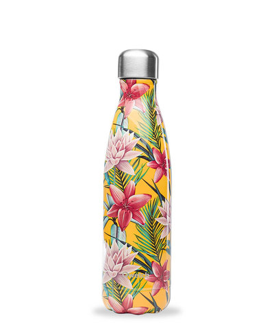 Bouteille Tropical Jaune 500 ml inox, isotherme