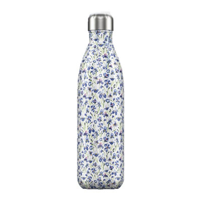 Bouteille Floral Iris 750 ml, inox, isotherme