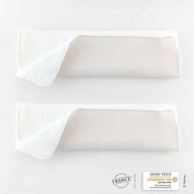 2 absorbants microfibre taille 2 poudré lavable