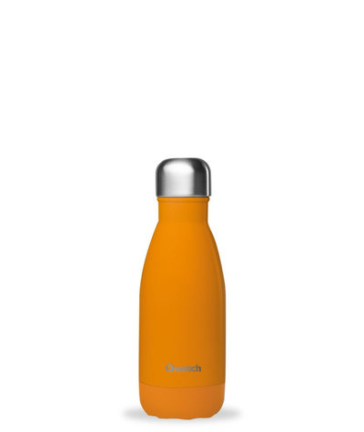 Bouteille orange pop 260 ml inox, isotherme et sans BPA