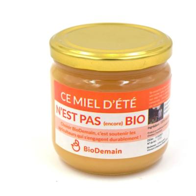 Miel en conversion biologique 500 g