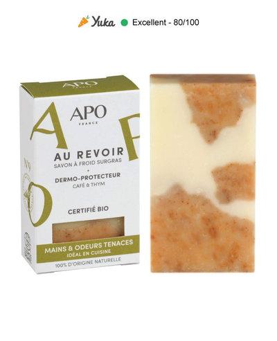 Savon Au Revoir - Mains et odeurs tenaces - certifié bio 100g