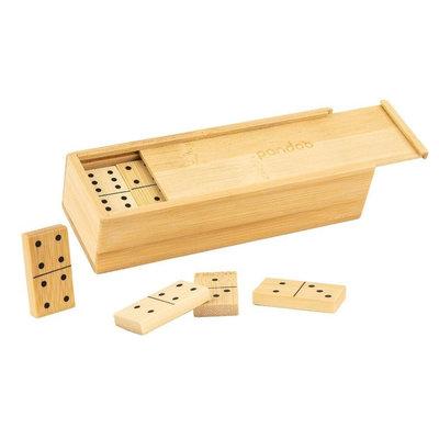 Jeu de domino en bambou