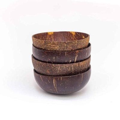Bol en noix de coco style brillant et biodégradable