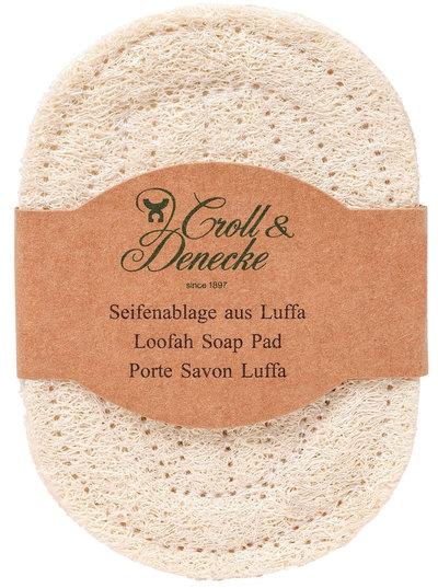 Porte-savon en fibres de luffa