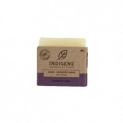 Savon solide pour peau normale parfum lavande 100g