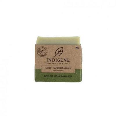 Savon solide pour peau normale parfum bois de Hô et romarin 100g