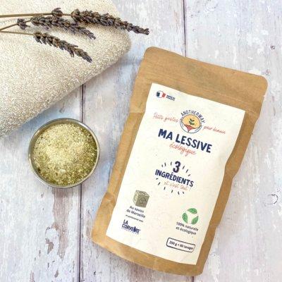 Préparation pour lessive écologique liquide au savon de Marseille 60 lavages