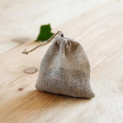 Filtre à thé en voile de lin biologique