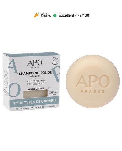 Shampoing solide tous types de cheveux 75g