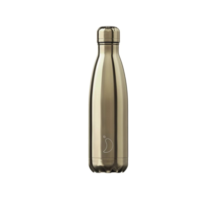 Bouteille Chrome gold 500 ml inox, isotherme