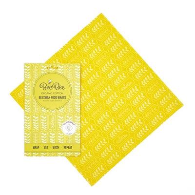 Emballage alimentaire réutilisable épis de blé Taille L