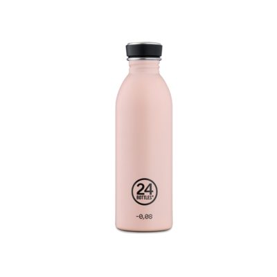 Bouteille urbaine Earth collection Dusty Pink inox 500 ml