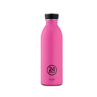 Bouteille urbaine Choromatic Collection Passion Pink inox 500 ml