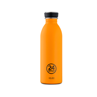 Bouteille urbaine Choromatic Collection Total Orange inox 500 ml